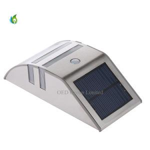 PIR Sensor Solar Garden Lights LED Outdoor Wall Lamps pictures & photos