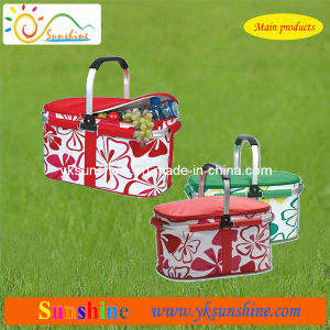 Folding Picnic Cooler Basket (XY-310C) pictures & photos