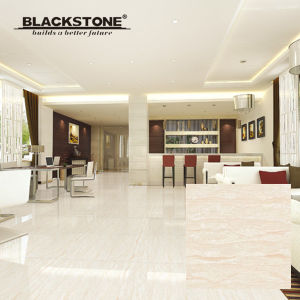 Rainbow Stone Series Polished Porcelain Flooring Tile with White Color pictures & photos