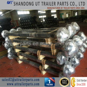 Stud Beam Axle /10 Holes Semi-Trailer Axle/Long Axle/Special Use Axle pictures & photos