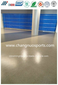 Color Lasting and Simple Construction Flooring, Seamless Rubber Floor pictures & photos