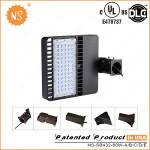 UL Dlc 80W LED Packing Lot Light pictures & photos