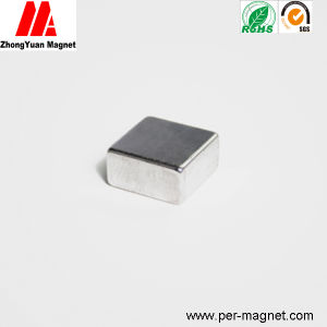 Small Cube NdFeB Neodymium Permanent Magnet for Transducer
