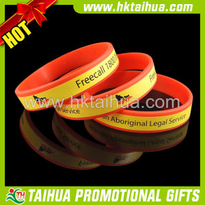 Printed Full Circle Silicone Bracelet for State Map (TH-band032) pictures & photos