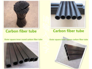 High Performance Carbon Fiber Roll Tubes pictures & photos