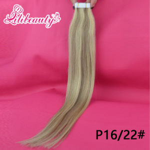 Factory Wholesale Tape Hair, Skin Weft Hair Extension pictures & photos