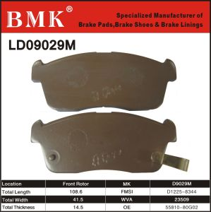 High Quality Brake Pads (D9029M) for Japanese Car pictures & photos
