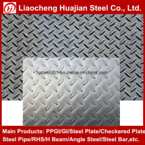 Q235 Hot Rolled Mild Steel Checker Plate for Floor pictures & photos