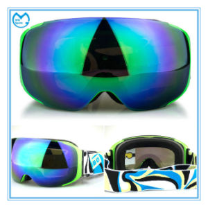 Frameless Skiing Protective Eyewear with Replacement Magnetic PC Lenses pictures & photos