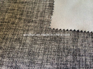 100% Polyester Linen Type Cloth for Curtain