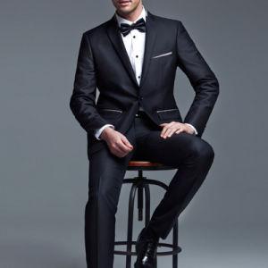 Italian Design Slim Fit Business Dress Suits for Men pictures & photos