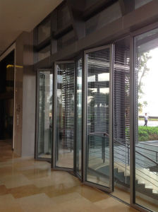 Movable Glass Partition Wall System for Shopping Mall, Showroom, Multi-Purpose Hall pictures & photos