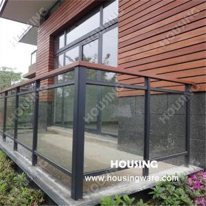 Simple But Strong Glass Railing, Aluminum Railing