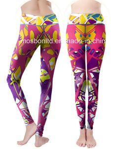 Colorful Leggings Adult Compression Tights for Women Fitness pictures & photos