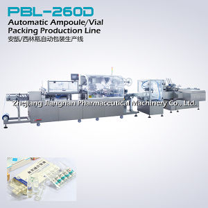 Automatic Medicine Packing Production Line (PBL-260D) pictures & photos