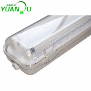 T8 Outdoor Indoor Use IP65 Weatherproof Light Fitting (YP8218T) pictures & photos