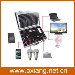 500W Output Portable Solar Generator 38W 220V Solar Power Generator Sp500A pictures & photos