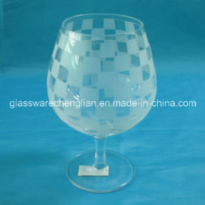 Frosted White Wine Glass (WB-001) pictures & photos