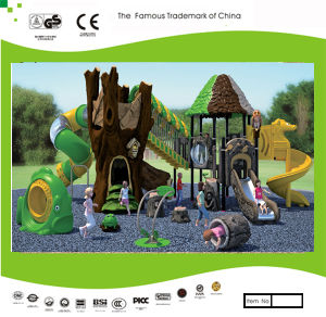 Kaiqi Medium Sized Forest Treehouse Themed Children′s Playground Set (KQ30016A) pictures & photos