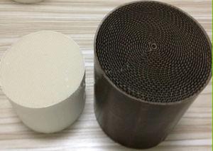 Auto System Metal/Ceramic Honeycomb Catalyst Catalytic Converter pictures & photos