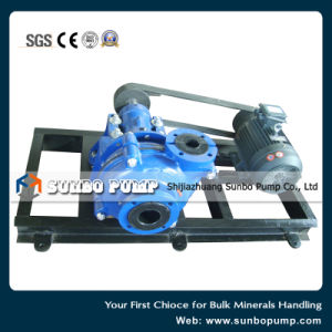 High Quality Rubber Lined Slurry Pump pictures & photos
