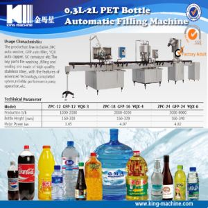 Automatic Linear Type Pet Bottle Washing Filling Capping Machine pictures & photos