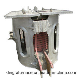 0.15ton Medium Frequency Induction Furnace for Melting Iron and Steel