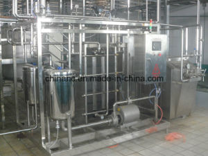 Automatic 2000L/H Fresh Fruit Uht Sterilizer pictures & photos
