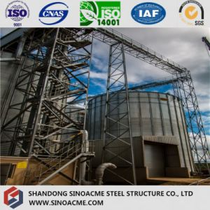 Steel Heavy Truss Structure for Chemical Plant Tank Support pictures & photos