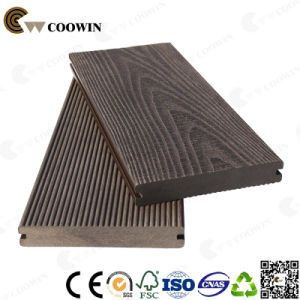 Garden Path Anti-Slip Solid 3D Embossing Composite Decking pictures & photos