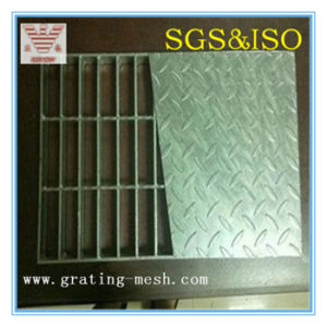 Galvanized Compound Steel Grating for Stair Tread