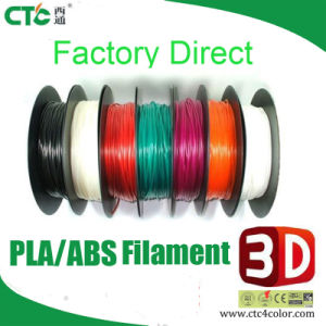 Wholesale ABS PLA Filament 1.75mm 3.0mm for 3D Printer Filament