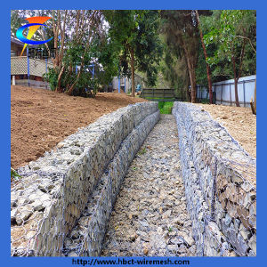 Hot Dipped Galvanized Hexagonal Wire Mesh Gabion pictures & photos