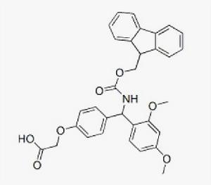 4-[ (2, 4-dimethoxyphenyl) (fmoc-amino) Me] Phenoxy Acetic Acid CAS: No. 145069-56-3 pictures & photos