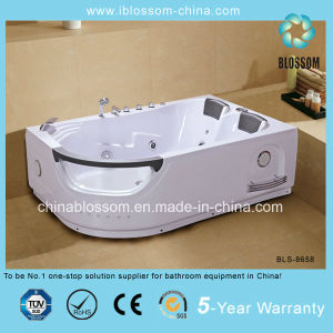 Best Selling Double Person Rectangle Whirpools Massage Bathtub (BLS-8658) pictures & photos