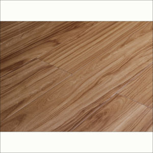 12mm U-Groove High Gloss Laminate Flooring Wood Flooring pictures & photos