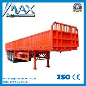 40FT Flatbed Curtain Semi Trailer From China Manufacturer pictures & photos