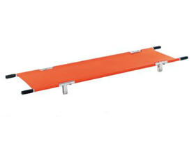 Non-Foldable Pole Stretcher with 4 Wheels with CE and ISO pictures & photos