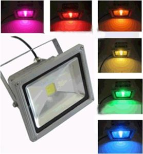 50W LED Flood Light with RGB Remote Controller