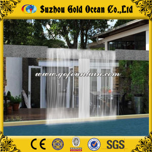 4m Width Waterfall Small Fountain for Swimming Pool