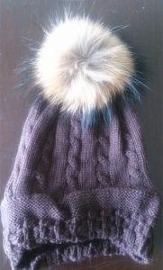 Natural Fur Hat Natural Fur Collar Es1503-28 pictures & photos