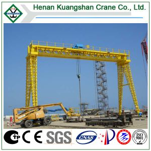 Gnatry Crane Single Beam Gantry Crane (MH) pictures & photos