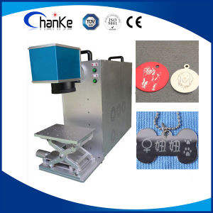 20W Desktop Fiber Laser Engraving Machine for Ring/ Plastic pictures & photos