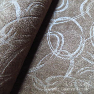 Jacquard Chenille Polyester Sofa Cover Fabrics pictures & photos
