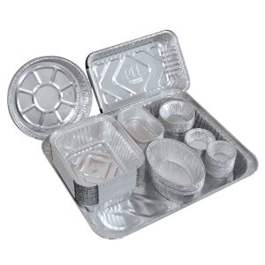 Able Packing Takeaway Large Aluminium Foil Food Container pictures & photos