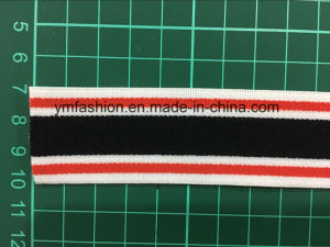 Custom High Polyester Woven Elastic Tape for Underwear Ym-1002 pictures & photos