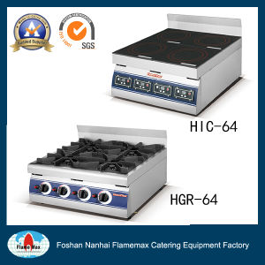 4-Plate Commercial Indution Cooker (HIC-64) Appoved pictures & photos