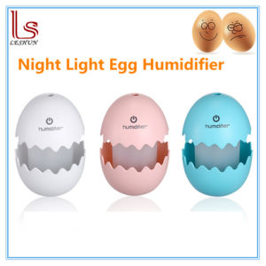 Car Ultrasonic Mute USB Egg Humidifiers pictures & photos