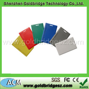 Colorful Design Smart ISO Proximity 1.8mm Thick TK4100 RFID Clamshell Card (ACM-EMC)