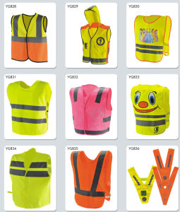 Europe Standard Children Safety Vest with Heating Traffic Printing pictures & photos